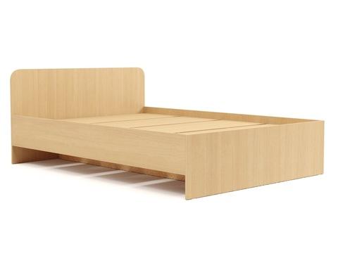Кровать КР-17 дуб белёный