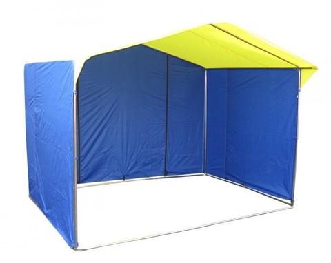 Торговая палатка «Домик» 4 х 3 К из квадратной трубы 20х20 мм, тент ПВХ
