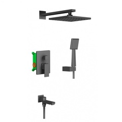 Комплект душевой системы скрытого монтажа Timo Selene SX-3069/03SM фото