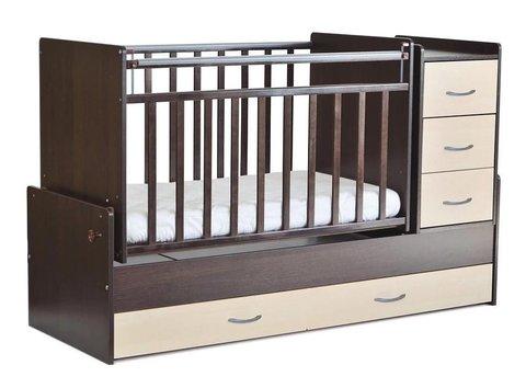Кровать-трансформер, поперечный маятник