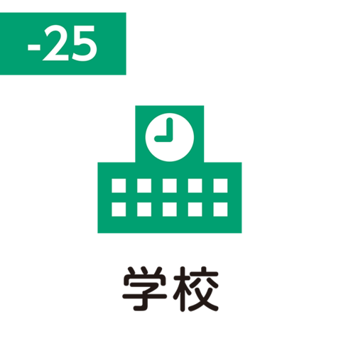 Pilot FriXion Stamp SPF-12-25G (学校 / gakkō / школа)