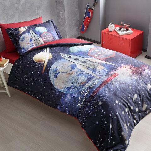 Детское постельное белье MARS   1.5сп  deluxe TIVOLYO HOME Турция