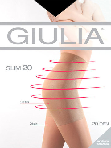 Женские колготки Slim 20 Giulia