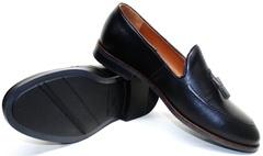 Туфли кожаные мужские Ikoc 010-1