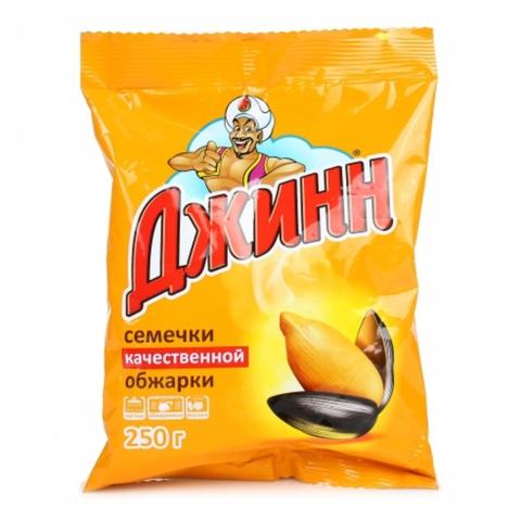 Семечки ДЖИНН 250 гр РОССИЯ