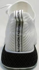 Модные белые кроссовки женские El Passo KY-5 White.
