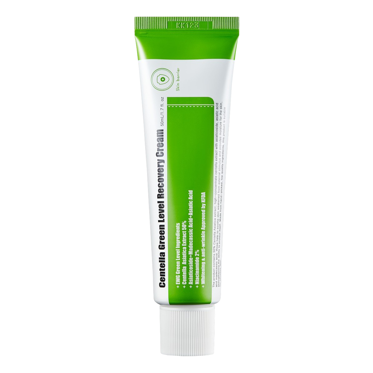 Кремы Успокаивающий крем для восстановления кожи с центеллой Centella Green Level Recovery Cream 100095.png
