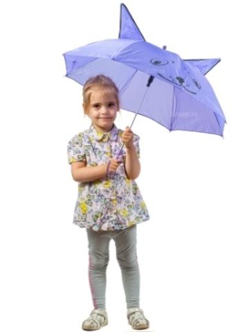 Зонт складной детский NL-50 с ушками