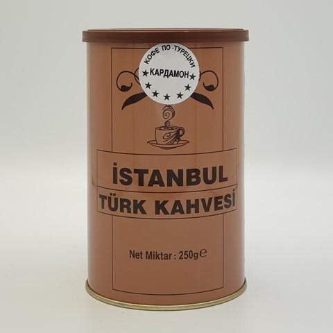 Турецкий кофе с кардамоном ISTANBUL KAHVE, 250 гр