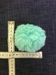 Помпон из искусственного меха, диаметр 8 см