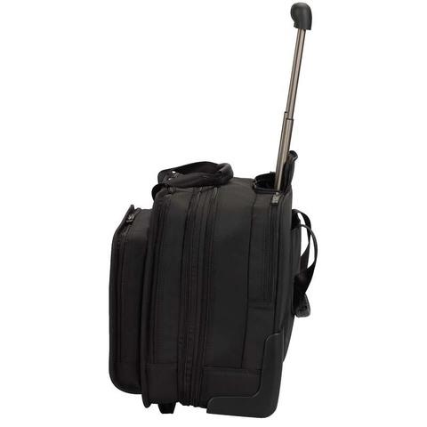 Сумка на колесах Victorinox Rolling Parliament 17'', черный, 43x26x36 см, 20 л
