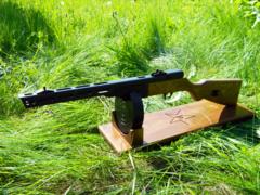 Soviet WW2 PPSh-41 wood toy