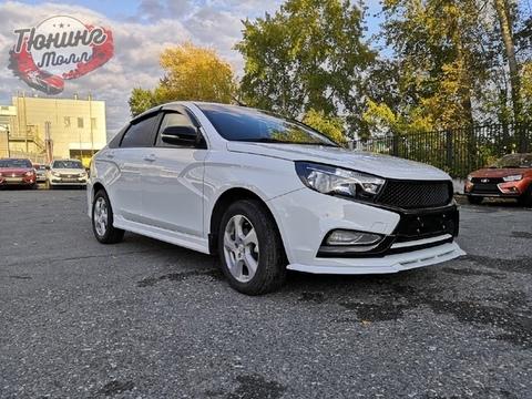 Пороги Lada Vesta VTS