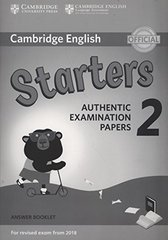 Starters 2 Answer Booklet (New format)