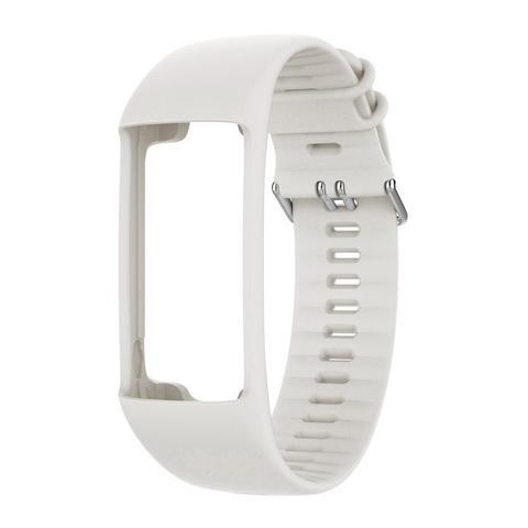 Силиконовый браслет Polar для пульсометра Polar A370, размер M/L, белый