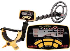 Металлоискатель Гаррет ACE 250 + Garrett AT и наушниками