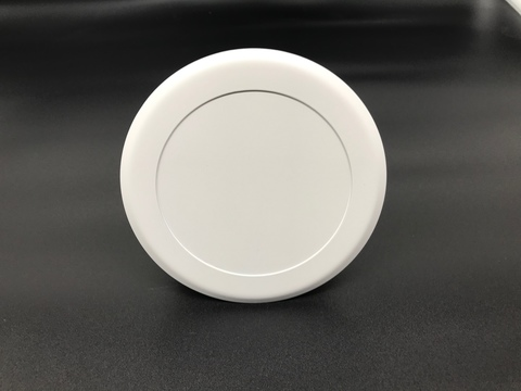 Диффузор приточно-вытяжной на магнитах регулируемый ДК-100 круглый металлический белый
