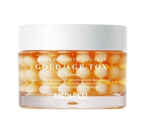 MEDI-PEEL Антивозрастной крем с экстрактом золотого шелкопряда Gold Age Tox Cream 50 мл.