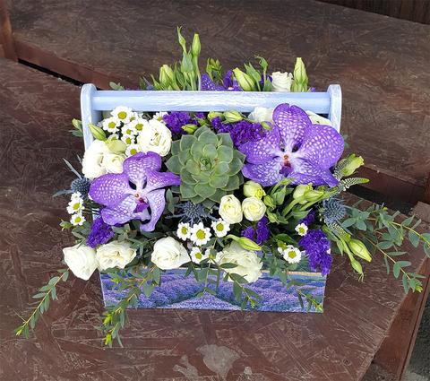Ящик с цветами Ванда 2
