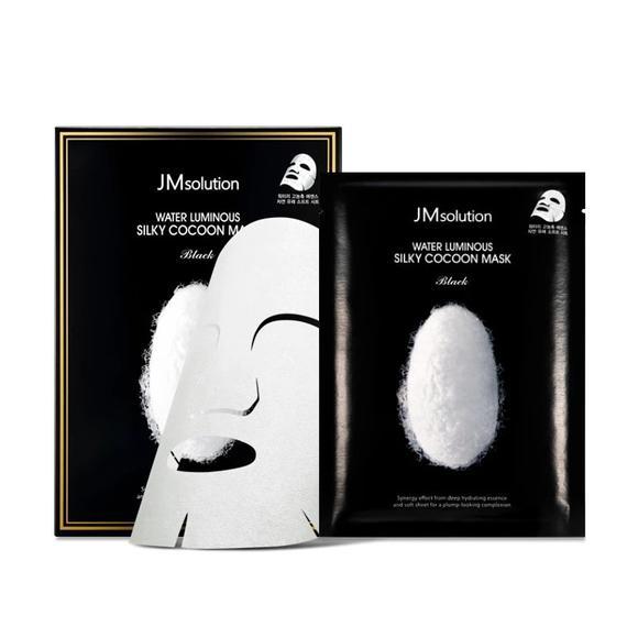 Маска для восстановления клеток кожи и здорового цвета лица с протеинами кокона белого шелкопряда JMsolution Water Luminous Silky Cocoon Mask