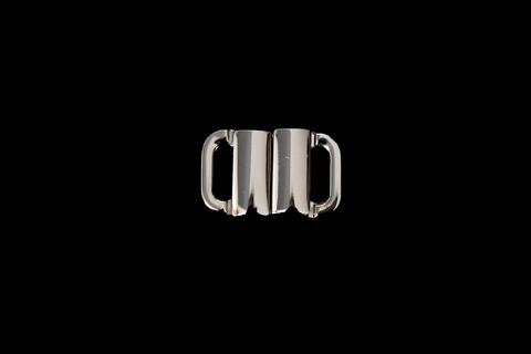 Застежка металл 10 мм никель