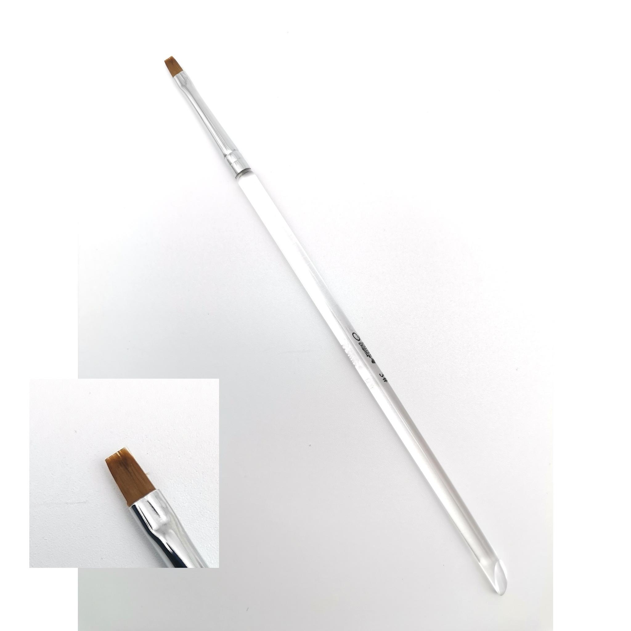 Кисть тонкая линия 5мм (без колпачка)