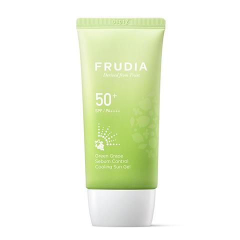 Frudia Крем солнцезащитный с виноградом Grape sebum control cooling sun SPF50+ PA++++, 50 г