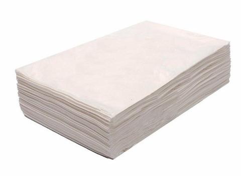 Салфетка спанлейс 30 x 40 см белая 100 шт.