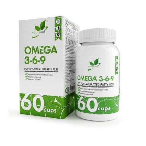 OMEGA 3-6-9, 60 капс.