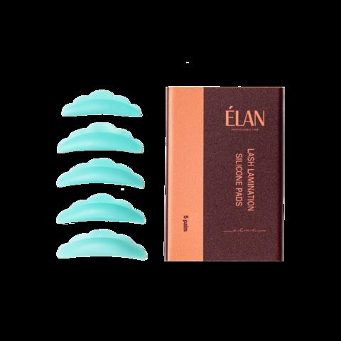 ELAN professional line Силиконовые валики для ламинирования ресниц КОМПЛЕКТ - 5 пар S/M/M1/M2/L