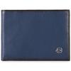 Кошелек Piquadro Edge, синий, 12,5x9x2 см