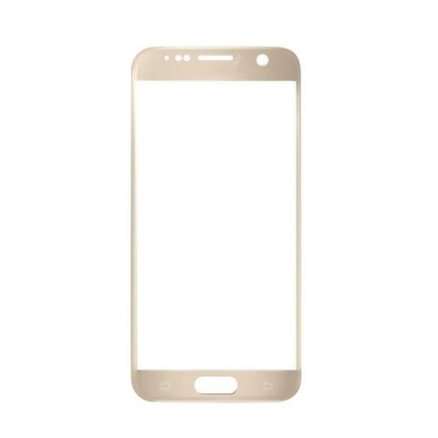 Стекло для Samsung S7 (Золото, серебро, белый)