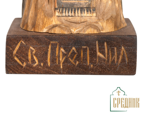 Скульптура Святой Преподобный Нил Столобенский