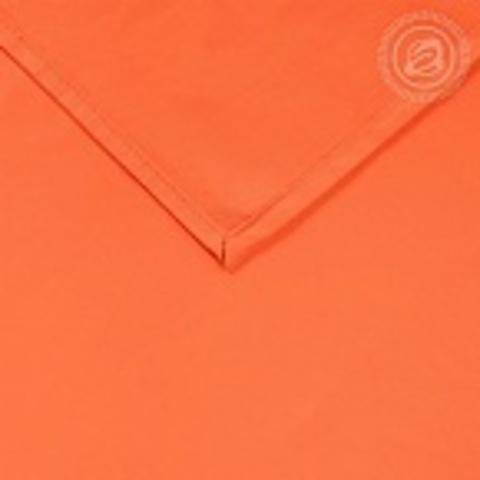 Простыни Сатин Оранжевый