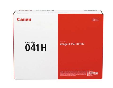 Оригинальный картридж Canon 041H BK черный  увеличенной емкости 0453C002