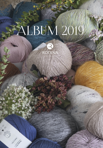 Журнал ALBUM 2019 Rodina Yarns