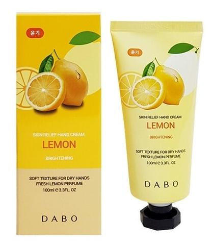 Dabo Крем для рук с экстрактом лимона 100мл