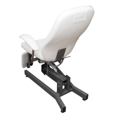 Педикюрое кресло Элит 1 мотор с раздвижными в стороны опорами для ног