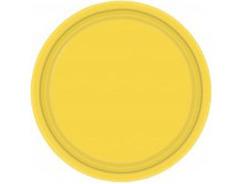 Тарелка Желтый / Yellow Sunshine / 17см, 8 шт.