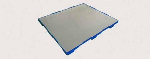 Поддон полимерный сплошной 1200x1000x150 мм. Цвет: Синий