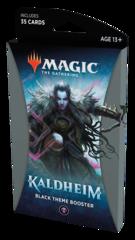 Тематический чёрный бустер выпуска «Kaldheim» (английский)