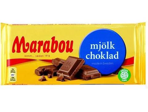 Marabou milk chocolate 200 гр
