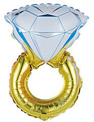 К Мини-фигура, Кольцо с бриллиантом,16