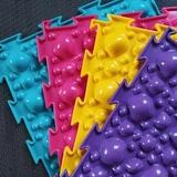 Массажный коврик Камни мягкие модульный коврик-пазл