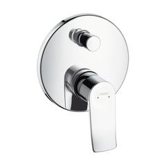 Смеситель для ванны встроенный Hansgrohe Metris 31493000