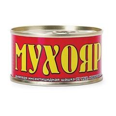«Мухояр — дымовая шашка» от мух, комаров и ос (100 гр)