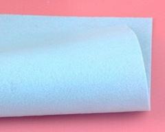 Фетр жесткий толщина 1 мм светло-голубой