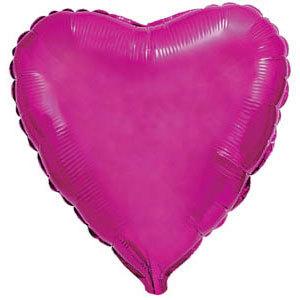 Фольгированный шар Сердце PURPLE 18