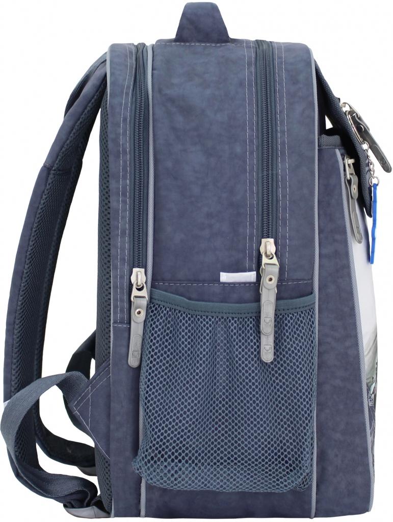 Рюкзак школьный Bagland Отличник 20 л. 321 сірий 75 м (0058070)