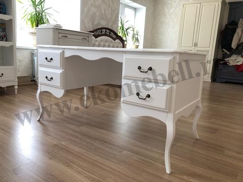 письменный стол белый фото
